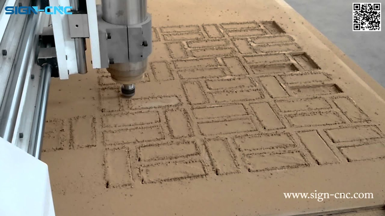 Sign 1318 Woodworking Cnc Router Cutting Hollow Out On