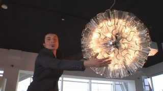 Подвесной светильник Axo Light Blum(Подвесной потолочный светильник Axo Light Blum 19 SP из хромированого металла. Рассеиватель выполнен из прозрачног..., 2012-12-18T13:24:51.000Z)