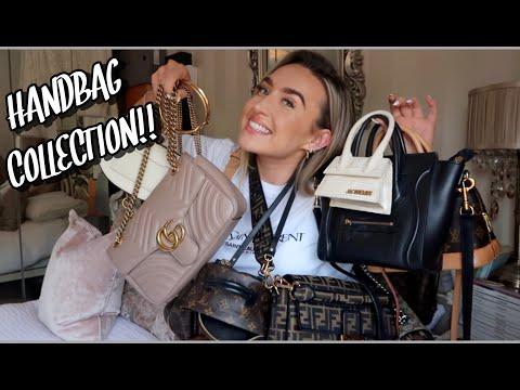 MY HANDBAG COLLECTION VIDEO 2019!!!! | Freya Killin