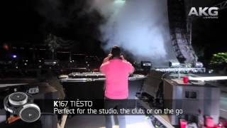 AKG by TIËSTO - Professional DJ Headphones