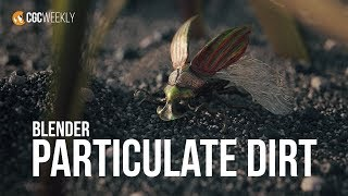 Realistic Particle Dirt in Blender! (CGC Weekly #22)
