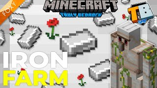 IRON FARM | Truly Bedrock Season 2 [15] | Minecraft Bedrock Edition 1.16 SMP