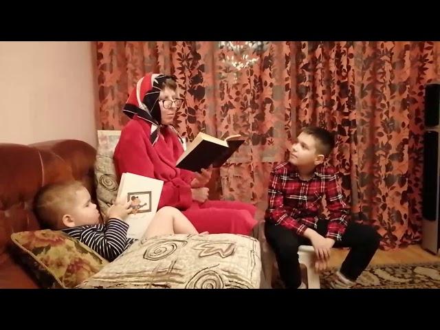 Изображение предпросмотра прочтения – АртемТитов читает произведение «Бабушкины сказки» С.А.Есенина