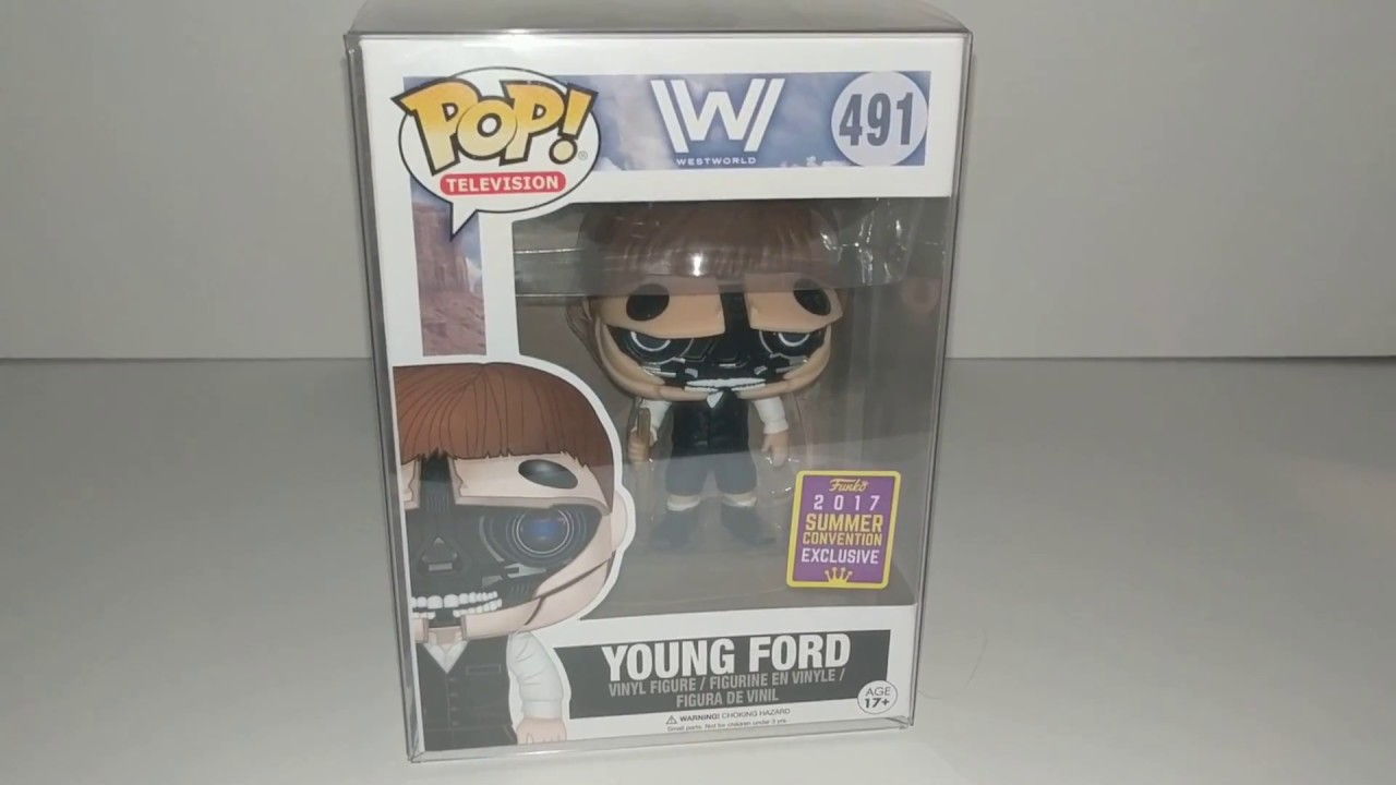 Television: Funko Pop Young Ford Westworld 2017, Toy NEU