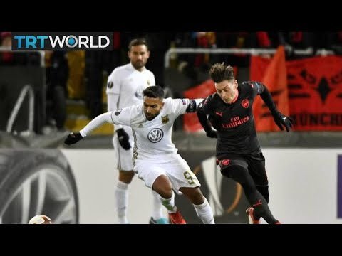 Europa League: Ostersunds lose to Arsenal in first match