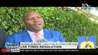 LSK Council allows Prof. Tom Ojienda to seek re-election