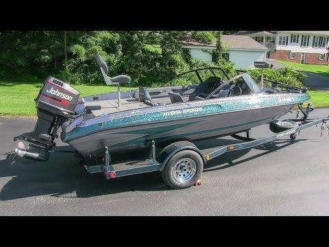 Hydra Sports Boats >> 1995 Hydra-Sport 185 bass boat with 150-hp Johnson ...