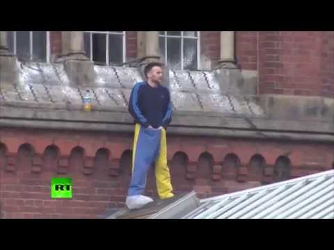 Manc murderer goes out on the roof tiles