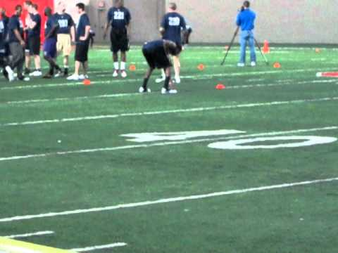 40 Yard Dash @ NFL Elite Pro Football Combine