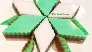 Thạch Rau Câu 3 Vị / Agar - Agar Coffee Coconut Jello Cake