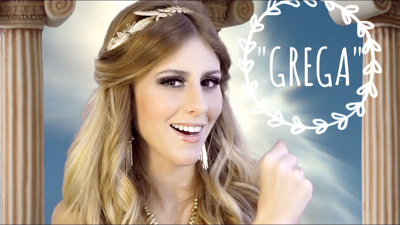 Super Maquiagem Grega - Greek Makeup - YouTube VD22