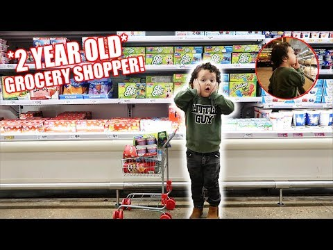 THE ACE FAMILY GROCERY SHOPPING CHALLENGE!!! *2 Year Old Baby*