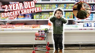 Download THE ACE FAMILY GROCERY SHOPPING CHALLENGE!!! *2 Year Old Baby* Mp3 and Videos
