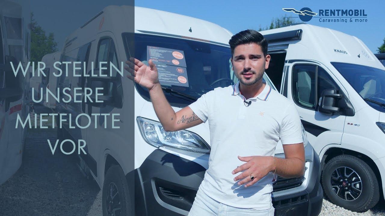 Rentmobil Wesseling - Wir zeigen Euch unsere Mietflotte!  Wohnmobile und  Wohnwagen