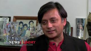 NewsLaundry Interviews Dr. Shashi Tharoor