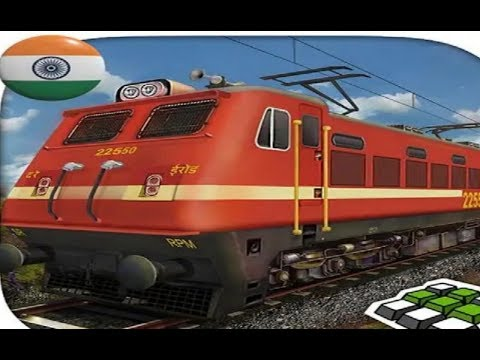 INDIAN TRAIN SIMULATOR FREE GAMES #001 - Train Simulator Games #q - Free Games Download - 동영상