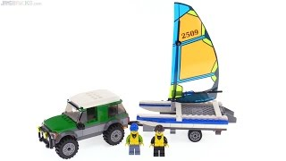 LEGO City 4x4 with Catamaran review! 60149