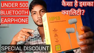 Special discount for Onlite hp13 Bluetooth earphones onlite Bluetooth earphones UNBOXING and Review