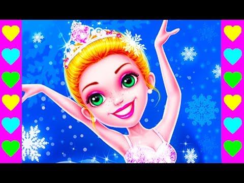 Мультик про девочку-балерину. Учимся балету в балетной школе. Интересный детский мультфильм.