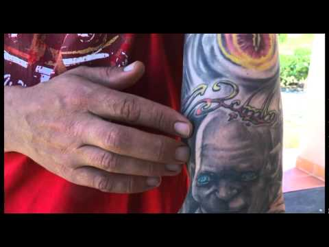Lord of the Rings Tattoo Video