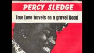percy sledge true love travels on a gravel road