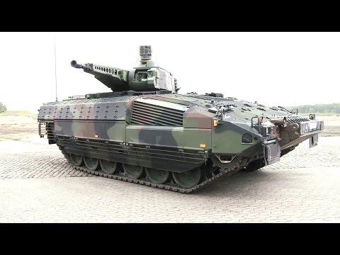 Rheinmetall Defence & KMW - Puma Infantry Fighting Vehicle Presentation [1080p]