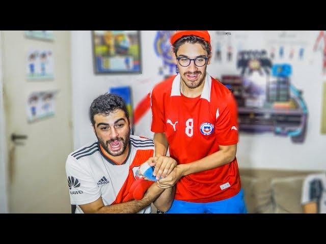 River vs Palestino | Copa Libertadores 2019 | Reacciones de amigos