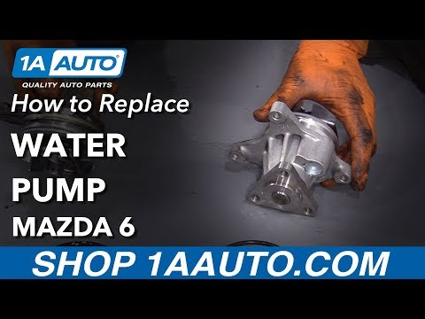 How to Replace Water Pump 02-07 Mazda 6