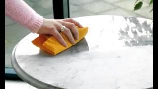видео Как ухаживать за мраморными изделиями?