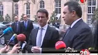 مهدي جمعة في زيارة لفرنسا 28 04 2014