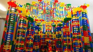 Epic Marble Race Tournament Most Thrilling Giant Marble Run