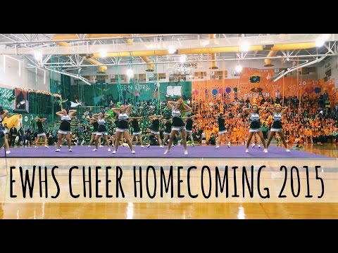 Edmonds Woodway High School: Cheer Homecoming Routine 2015