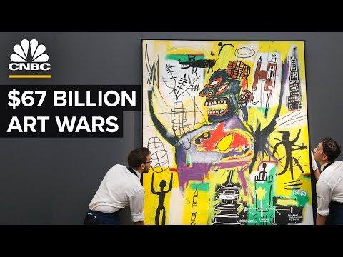 How Two Companies Dominate The $67 Billion Art World