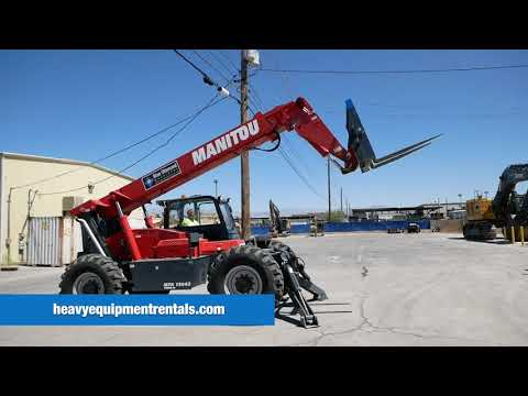 Manitou MTA 12042 Reach Forklift For Sale - $98,500