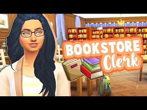 BOOKSTORE CLERK PART TIME CAREER📚 // MOD REVIEW | THE SIMS 4
