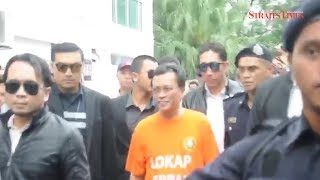 Remand revision rejected, Shafie remain in MACC custody for probe