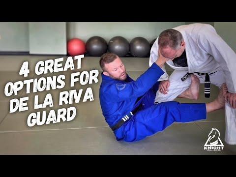 De la Riva Guard Basics & 4 Great Options