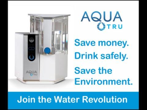 the world's best water filter (aquatru) -