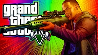 GTA 5 - BEST SNIPER EVER!