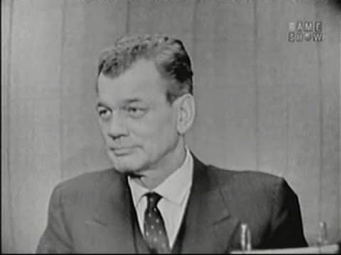 What's My Line? - Joseph Cotten; Dick Powell [panel] (Jan 11, 1959)