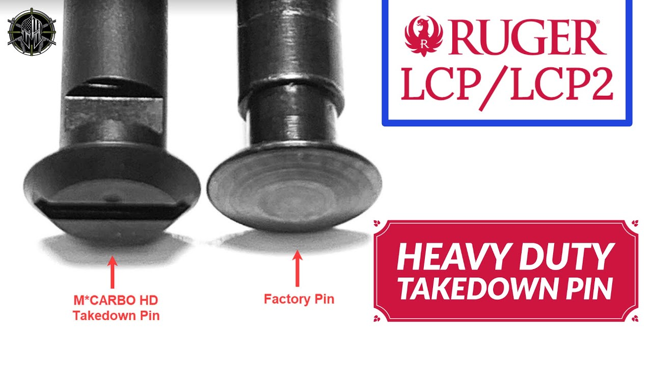 Ruger Lcp And Lcp 2 Heavy Duty Takedown Pin