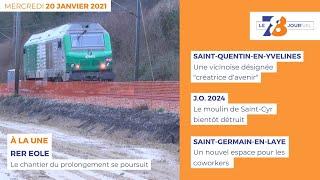 7/8 Le journal. Edition du 20 janvier 2021