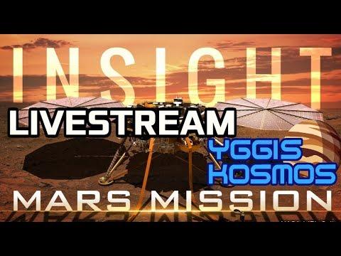 NASA-Livestream: Landung der Marssonde InSight! 20 Uhr, Yggis Kosmos