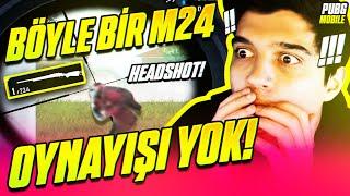 ÖYLE BİR SNİPER M24 OYNADIM Kİ.. | PUBG Mobile Erangel Gameplay w/Gazi