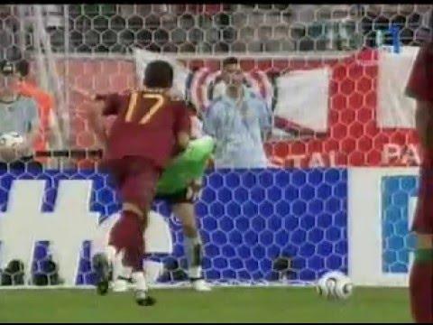 C.Ronaldo in fifa worldcup 2006