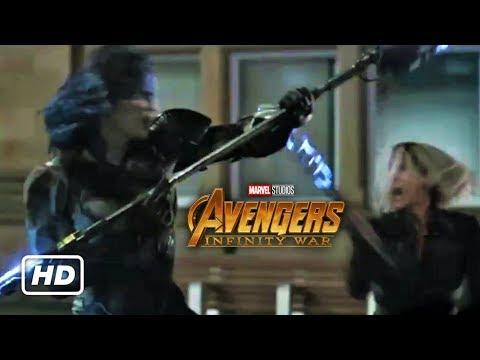 Avengers: Infinity War - Black Order vs Avengers Clip (New HD Promo)