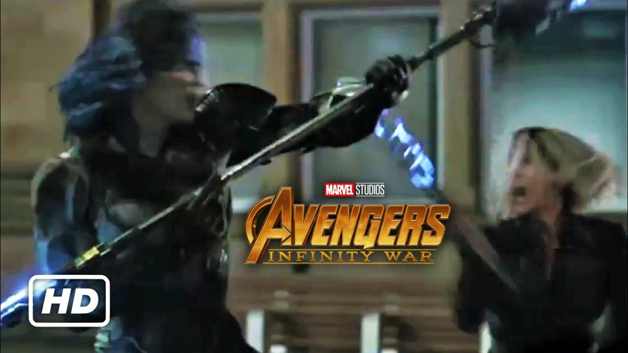 Download Avengers: Infinity War - Black Order vs Avengers Clip (New HD Promo)