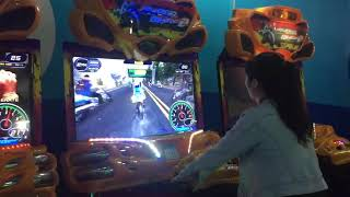 42inch super bike game machine