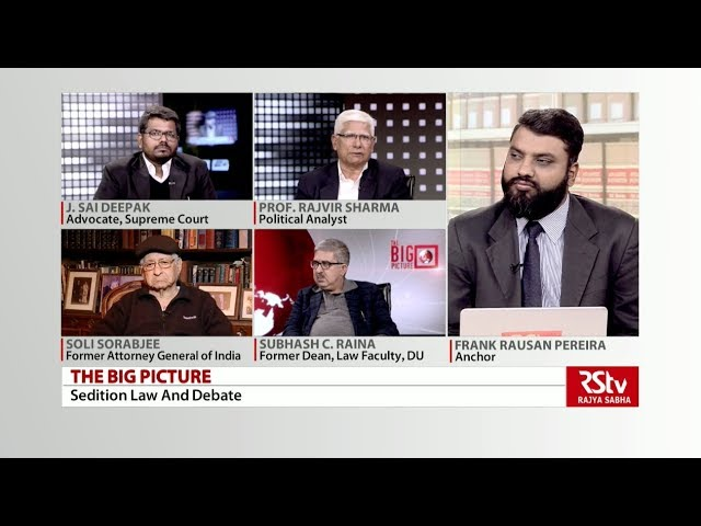 The Big Picture - Sedition Law and the Debate