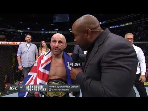 UFC 266: Волкановски vs Ортега - Слова после боя